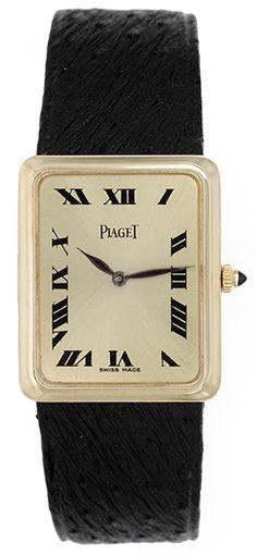 Piaget 18k Yellow Gold Quartz men's or Ladies Watch