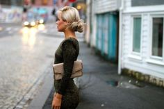 Love this casual/dressy easy updo
