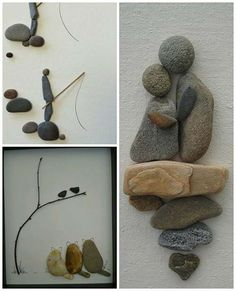 Beautiful inspiration For Art With Rocks, Twigs and Other Nature Items