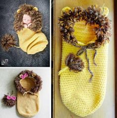 These Crochet Baby Cocoons are gorgeous and we have created a collection of the cutest ideas on the block. Check them all out now!