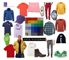 """Lente/wintertype man. Spring/winter color type/men."" By Margriet Roorda on Polyvore."