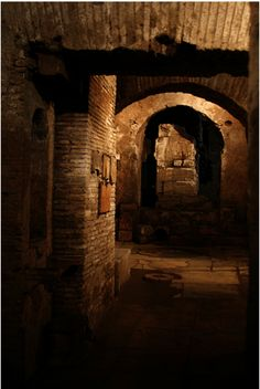 One of the largest secret Mithraic temples in Rome is hidden next to the famous Circus Maximus. Discovered in 1931 as part of Rome's fascist-era building projects, the small subterranean space was once dedicated to the mystery cult of the god Mithras.