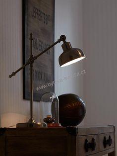 Markslojd 105042 GRIMSTAD - Industriální stolní lampa
