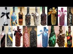20 GENIUS VINTAGE BOTTLE IDEAS You can't even imagine all those awesome crafts that you can make out of bottles. For example, check out that amazing tissue holder that we've made out of an empty Waste Bottle Craft, Glass Bottle Crafts, Wine Bottle Art, Diy Bottle, Diy Crafts Hacks, Diy Home Crafts, Cute Crafts, Arts And Crafts, Diy Projects To Make And Sell