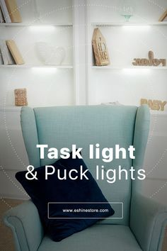 Task lighting is used to illuminate areas where more lighting is needed for certain purposes. Store checkout counters, dressing rooms, service desks, back-office, and, stockroom areas all benefit from our task-specific lighting . There's no better ally to boost your task lighting than puck lights! and today you can upgrade the look of your house with this innovative dimmer technology Go to eshinestore.com to know more about this energy-efficient tool