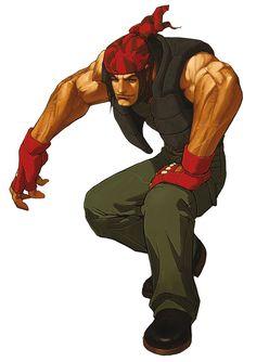 Ralf Jones - The King of Fighters 2002