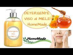 Detergente Viso al MIELE - Homemade HONEY Face Wash - YouTube