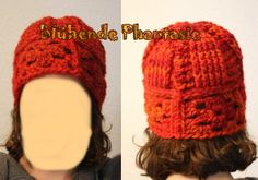hat with granny squares