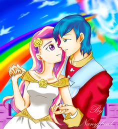 Cadence and Shining armor by NanyJfreak.deviantart.com on @deviantART