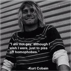 Kurt u were truly a genius and an inspiration