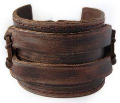 axy LAB1-1 LEDERARMBAND BREIT SERIE! ECHT LEDER Armband Vintage Leather Bracelet! Surferarmband Herren (Braun/ Brown) - http://schmuckhaus.online/axy/braun-brown-axy-lederarmband-breit-serie-lab1-1