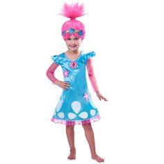 Child Girls Trolls Poppy Costume: Amazon.es: Ropa y accesorios