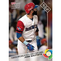 La tarjeta de jugador Jose Bautista de La Republica Dominicana