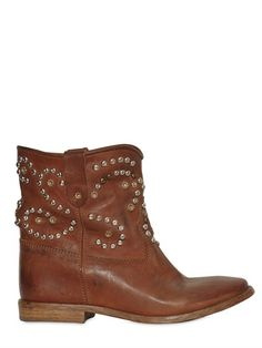 Kleidung & Accessoires Damenschuhe Stiefellete Isabel Marant 37 Khaki Boots Lammfell Fixing Prices According To Quality Of Products