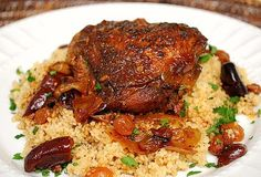 Moroccan chicken crock pot recipe - Tried this tonight. Wow, this might be the best meal I've ever made (says my husband)! Left the lemon peel and juice out as I didn't have any and used black jumbo raisins instead of golden. Will use golden next time, I think it'll taste better.