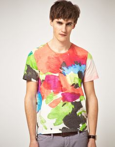 paul smith floral print T