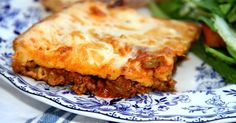 This dish gives you the flavor of pizza, but in an easy casserole form. Mozzarella cheese, meat sauce, and a batter that produces a crust-like layer, makes this casserole much like an upside down deep dish pizza. Add your favorite toppings!