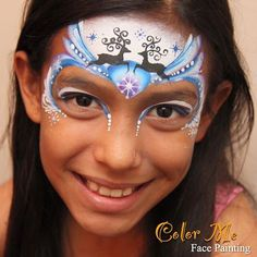 reindeer Hair Painting, Painting For Kids, Body Painting, Christmas Face Painting, Christmas Paintings, Reindeer Face Paint, Christmas Art For Kids, Xmas, Face Painting Designs