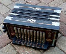 Vintage German Regal Melodeon Accordion Antique Rare