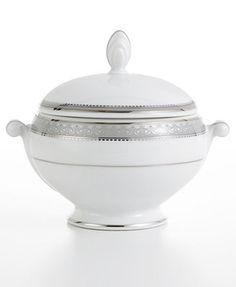 Mikasa Platinum Crown Sugar Bowl