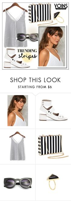 """""""Yoins #144"""" by whirlypath ❤ liked on Polyvore featuring Nasty Gal"""