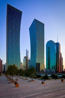 Agricultural Bank of China in Shanghai by Arquitectonica