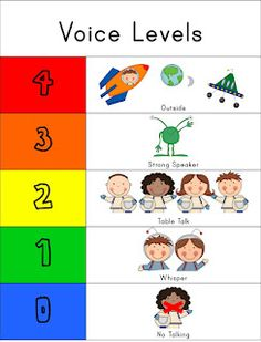 The Kinder Kid E Voice Level Control Freebie Kindergarten Clroom School