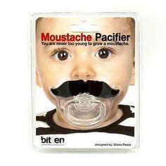 Fopspeen Moustache / Sucette Moustache / Moustache pacifier