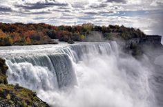 Niagara Falls by SelimGuney.deviantart.com  #NiagaraFalls