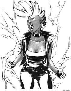 Storm, Ororo Munroe, X-men Drawn By Amy Reeder Site Storm Comic, Storm Xmen, Storm Marvel, Marvel Comics, Marvel Dc, Cosmic Comics, Marvel Women, Polaris Marvel, Rogue Gambit
