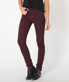 ARLENE DEEP PLUM | Jeans | Clothing | Shop Womens | General Pants Online