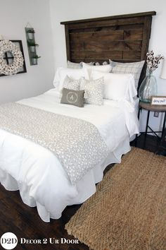 This Farmhouse Cotton Bedding Has Fixer Upper Written All Over It