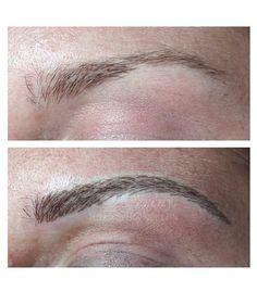 Természetes hatású szálazott szemöldöktetoválás Make Up, Makeup, Beauty Makeup, Bronzer Makeup