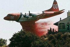 Waldo Canyon Fire air drops