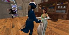 Dancing at Nelson's Blood tavern, Port Austen: http://maps.secondlife.com/secondlife/Antiquity%20Argyle/71/74/26
