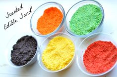 play recipe for kids edible sand for summer