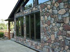 Five Fieldstone Flagstone Molds Make Concrete Garden Patios, Wall Stone Oaf Decorative Stepping Stones, Stepping Stone Walkways, Paver Stones, Brick Walkway, Concrete Stone, Concrete Garden, Diy Concrete, Concrete Projects, Concrete Color