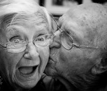 What a privilege it is to grow old with someone you love.