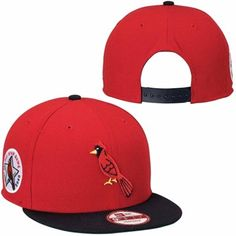 bc30534b32d St. Louis Cardinals New Era 1940 MLB All-Star Patch Redux 9FIFTY Snapback  Adjustable Hat - Red Black