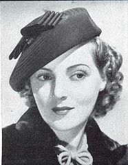 Pat Patterson in hat I, 1937 #EasyNip