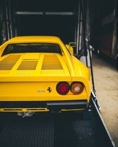 Yellow 288 GTO love it