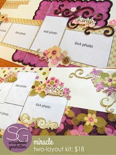 Four new kits by Debbie Sanders Bucket List Quotes, Bucket List Life, Scrapbooking Layouts, Scrapbook Pages, Teenage Bucket Lists, Scrapbook Generation, Page Layout, Gift Wrapping, Place Card Holders