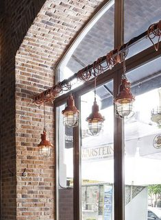 #lighting #industrial #brick