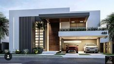 149 most popular modern dream house exterior design ideas page 26 Villa Design, Facade Design, Exterior Design, Exterior Homes, Door Design, House Front Design, Modern House Design, Contemporary Design, Contemporary Apartment