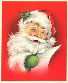 winking santa - Love this Santa Claus