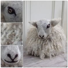 DIY - felted sheeps wool / tovat får