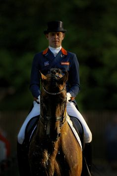 Hans Peter Minderhoud, Glock's Romanov - NK Dressuur Hoofddorp - Horses.nl