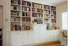 Custom Built-in Bookcases, Wall Units or Cabinets NYC Brooklyn NY bookshelves bookcase built in builtin cabinet cabinetry book case cases shelves shelving tv entertainment center wallunit wallunits unit manhattan ny new york made. Decor, Built In Desk, Shelves, Home, Bookshelves, Bookcase, Bookcase Wall, Room Remodeling, Built In Bookcase