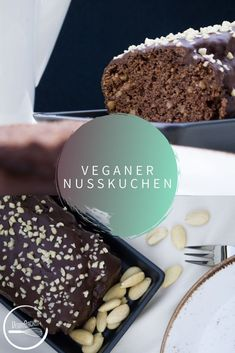 Vegan nut cake: simple but good! - This vegan nut cake is so quick and easy that I bring it with me to any event when cake is asked fo - Healthy Cookie Recipes, Healthy Cookies, Vegan Recipes, Cake Simple, Gluten Free Cookies, Fall Recipes, Food Inspiration, Baked Goods, Bakery