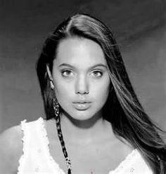 angelina jolie as a kid <3